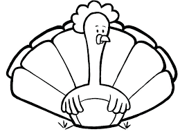 Turkey Coloring Pages Free Printable Cute Thanksgiving Printable