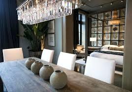 odeon chandelier clear glass fringe rectangular rh