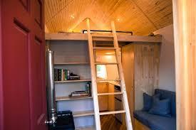 tiny house loft ladder. Tiny House Ladder Midwest 03 600x400 Loft