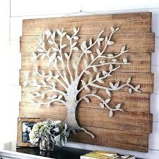 large tree wall art of life metal rod iron decor tr