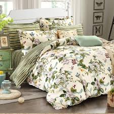 nice country style bedding winlife fl american duvet cover set shabby vintage bedroom girls bed