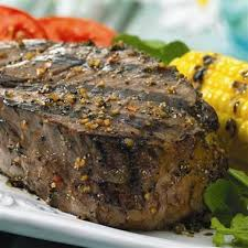 grilled montreal steak shake on grill mates montreal steak seasoning a robust blend