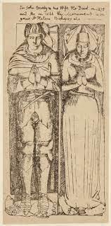 NPG D34400; Sir John Crosby; Agnes Crosby - Portrait - National Portrait  Gallery