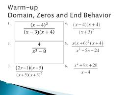 3 a rational function is the ient of two polynomial functions the domain of a rational function is all real numbers excluding numbers that make