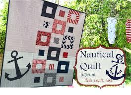 Nautical Mini Quilt Pattern & Giveaway & nautical_quilt_tutorial_baby_shower Adamdwight.com