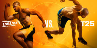 insanity vs t25 which workout should you do