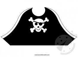 Cappello Da Pirata Da Ritagliare Lavoretti Creativi