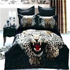 cheetah bedding leopard leopard print bedding full size