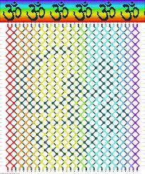 FriendshipBraceletsNet Pattern