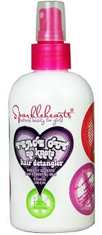 sparklehearts peace out no knots hair detangler 8 fl oz