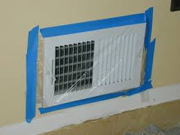 cover vents to prevent dust from entering system