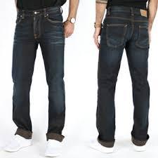Nudie Slim Jim Size Chart Details About Nudie Mens Slim Fit Jeans Slim Jim Black Ink W33 W34 Organic Denim