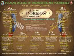 horizon k symposium all departments aug velalar horizon symposium