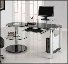 glass corner desk ikea glass corner computer desks for home