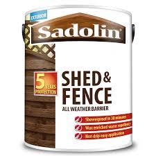 Sadolin Shed Fence All Weather Barrier Sadolin