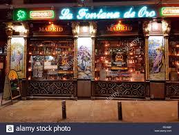 Impressionen Bar Madrid Stock Photo 215156586 Alamy