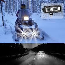 Best Fog Light For Snow 20w Led Work Light Square Cube Pods Offroad Fog Bumper Backup Driving Lights