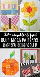 Free Quilt Block Patterns