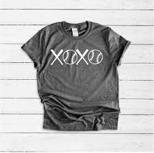 Xoxo Love Baseball Shirt