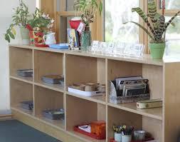montessori classroom shelf