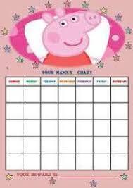Peppa Pig Potty Training Reward Chart Printable Free Printable Peppa Pig Potty Chart Toddler Printable