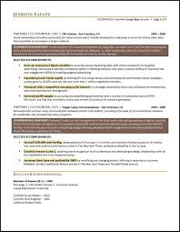 Operations Manager Resume Example Executive Level
