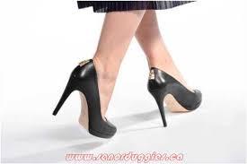 womens michael michael kors antoinette pump 001 black high heels rounded toe dbnwk 4622