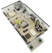 Small House Floor Plan Ideas Cool Floor Plans For Small Houses - Small apartment floor plans 3d