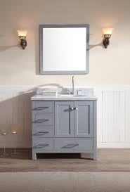 Bathroom Vanity Double Impressive Ariel Cambridge 48 Single Sink Vanity Set W Right Offset Sink In