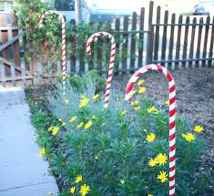 introduction candy cane decorations large outdoor