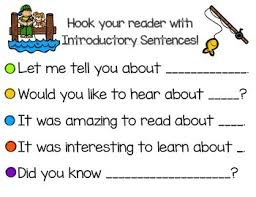 five introductory and conclusion sentence starters appropriate for five introductory and conclusion sentence starters appropriate for k 2 grade i print both