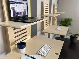 adjustable wall mounted standing desk
