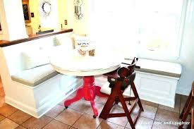 kitchen table with built in bench. Kitchen Table With Built In Bench Corner .