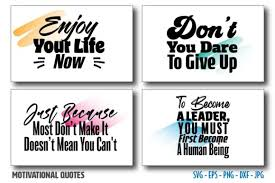 ✅ download free mono or multi color vectors for commercial use. Motivational Inspirational Quotes Bundle Graphic By Saudagar Creative Fabrica
