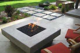 modern patio fire pit. Modern Outdoor Firepit Inspiration Honeysuckle Life Diy Concrete Fire Pit Patio