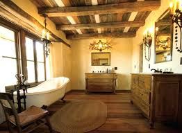 exotic rustic bathroom rugs cowhide contour intended for ideas 10