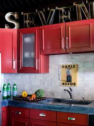 best color to paint kitchen cabinetsHGTVs Best Pictures of Kitchen Cabinet Color Ideas From Top