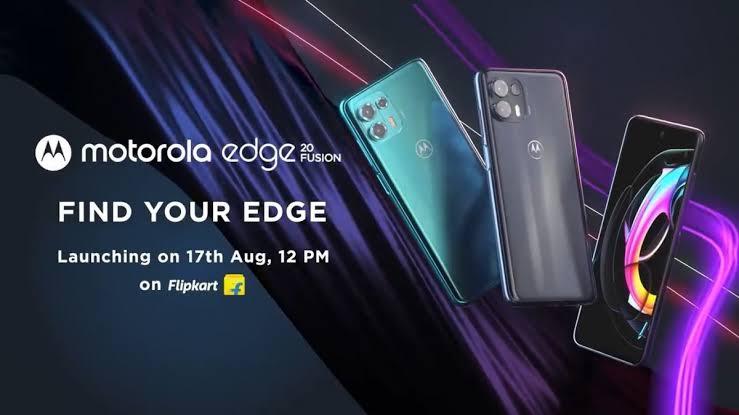 Motorola Edge 20 Fusion Specification, Launch date, Price in India