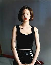Nana At The Shoot For High Cut Nana Imjinah 나나 ボブ 髪型