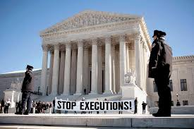 "Image result for 1972 - The U.S. Supreme Court ruled that the death penalty could constitute ""cruel and unusual punishment."" The ruling prompted states to revise their capital punishment laws."