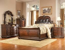 palace canopy bedroom set aico