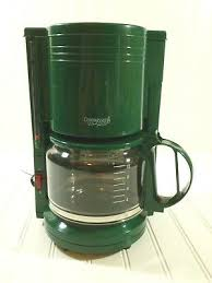Choose from contactless same day delivery, drive up and more. Gevalia Connaisseur Home Concepts 10 Cup Coffee Maker Hunter Green Gm610g 22 95 Picclick