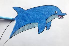 Mother dolphin swims with her. Dolphin Free Printable Templates Coloring Pages Firstpalette Com