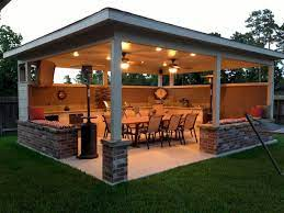Cool 60 Awesome Outdoor Kitchens Ideas On A Budget Https Livingmarch Com 60 Smart Ideas Outdoor Kitchens Backyard Patio Backyard Outdoor Patio