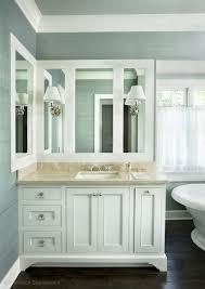 white bathroom cabinets with granite. Unique White Crema Marfil Marble Bathroom Vanity  Httpprecisionstoneworkscomportfoliobathrooms To White Cabinets With Granite H