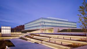 Biometric Technology Bands Of Glass Wrap Fbi Technology Building In West Virginia By Som