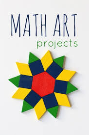 Creative Titles For Math Projects 21 Math Art Projects For Kids