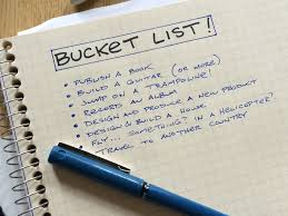Whats On Your Bucket List