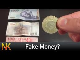 How To Make Fake Money For Vending Machines Classy Is Your Money FAKE Taiwanese Money YouTube