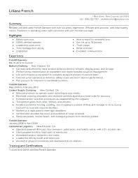 Certified Forklift Operator Resume Booktrades Org